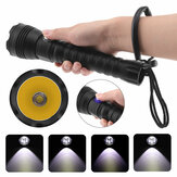 A28 XHP70 500m 4 Modes Professional Diving Flashlight Strong Light Long-range 26650 Flashlight Dive Light