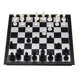 Folding Magnetic Travel Classic Chess Set Checkers Backgammon Set Vacation