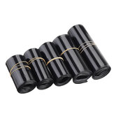 50/60/70/80 / 95mm PVC Black Heat Shrink Tube for RC Lipo البطارية