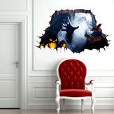 Miico 1101 Halloween Sticker Horror Hand Sticker Wall Sticker Halloween Decoration