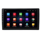 10.1 Inch 2 DIN For Android 8.0 Car Stereo Radio 2.5D Touch Screen 4 Core 2G+32G Screen WIFI GPS Navigation AM FM RDS