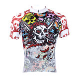 Men's Cycling Jersey Full Zipper Quick Dry Mountain Bike Shirts