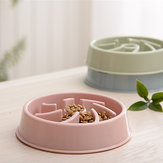 Pet Dog Cat Slow Eat Bowl Puppy Feeder Eat Bowl Health Diet Obesity Supplies