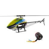 Kit XLPower XL550 6CH 3D Flying RC Helicóptero Com 4020 1100KV Brushless Motor