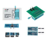 EZP2019 High Speed SPI فلاش Programmer 24/25/93 bios 25T80 Burning Offline Copy Programming
