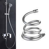1.5/2/3M 1/2'' PVC Smooth High Pressure Water Shower Hose 360 Degree Swivel Long Hose for Bath Handheld Shower Head