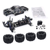 ZD Racing Camouflage Color MT8 Pirates3 1/8 4WD 90km / h Brushless RC Car Kit sem peças eletrônicas