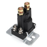 4 Pin 12V 500A Relay Car Starter On/Off Power Switch Dual Battery Isolator Black