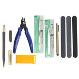 7 stks DIY Gundam Modeler Basic Tools Set Craft Hobby Building Model slijpen voor Gundam