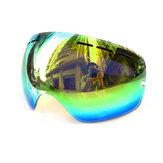 COPOZZ GOG-20 Anti-sis UV400 Orijinal Lens Kayak Gözlükleri Büyük Küresel Gözlükler Kar Gözlükleri Gözlük Değiştirme