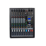 6/812/16 Channel 35W Audio Mixer Mixing Console DJ 99 DSP Effects Digital USB bluetooth 48V Phantom Power Stereo Sound