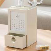 Masaüstü Düzenleyici Çok Fonksiyonlu Kalem Tutucu ile Günlüğü Ev Ofis Malzemeleri Depolama ile Çekmece