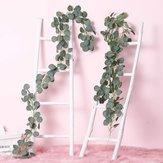 2 М Искусственные Растения Зелень Гирлянда Искусственного Шелкового Лозы Венок Свадебное Стены Листья Декор Поставки