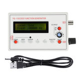 1Hz-500KHz DDS Functional Signal Generator Frequency Generator Sine + Square + Triangle + Sawtooth Waveform Meter