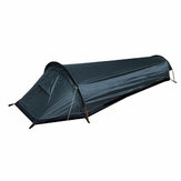 Tienda de mochilero ultraligera al aire libre cámping Dormir Bolsa Tienda ligera para una sola persona