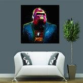 Miico Pintados à Mão Óleo Pinturas Colorful Arte Da Parede De Gorila Para A Decoração Da Casa De Pintura