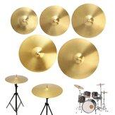 14/12/16/18/20 Pollici Piatti per tamburi in lega di ottone per principianti di strumenti a percussione