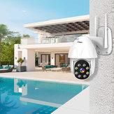BESDER P08 1080P H.265 Prędkość Dome Zewnętrzna bezprzewodowa kamera IP z regulacją nachylenia 2 Way Audio IR Vision IP ONVIF Nadzór wideo