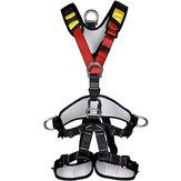 XINDA Wspinaczka skałkowa Pas bezpieczeństwa na całe ciało Alpinizm Rescue Rappelling Aloft Work Suspension Strap