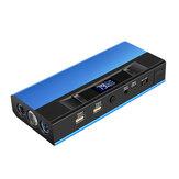 18000mAh 1200A Car Jump Starter البطارية Booster with LED رقمي شاشة الدعم LED Flashlight USB شحن مدخل
