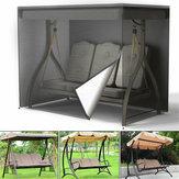 Protection imperméable résistante d'hamac de patio de jardin de couverture de siège d'oscillation de 3 places