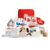 249Pcs 34Types SOS Survival Equipment First Aid Kit Wound Treatment Tools For Outdoor Activities Camping Hunting