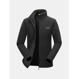 Heren Outerdoor Sportwear Waterdichte fleece windjacks Ademende sportjackjassen