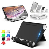 Portable Desktop Foldable Phone Holder Tablet Stand for Smart Phone Tablet for iPhone 11 Pro Max for Samsung Galaxy Note 10+ Mi9 Huawei P30