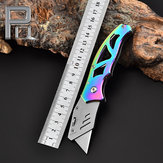 XANES® 170mm 3Cr13 Stainless Steel Portable Creative Utility Cutter Line Lock Cutter Art Work Cutting Tools Folding Knife