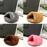 Pet Bed Puppy Cushion House Cave Cat Sleep Bag Soft Warm Kennel Mat Blanket