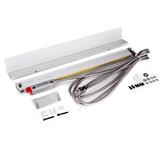 YIHAOGD YH YE 1μm TTL 50-1100mm Ferramenta de Torno de Codificadores de Escala Linear Eletrônica para 2/3 Eixos Grating CNC Milling CNC Digital Readout Display DRO