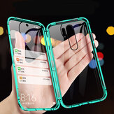 Bakeey for Xiaomi Redmi Note 8 PRO Case 360º Curved Screen Front+Back Double-sided Full Body 9H Tempered Glass Metal Magnetic Adsorption Flip Protective Case
