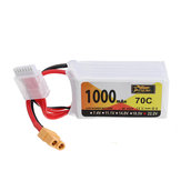 ZOP Power 22.2V 1000mAh 70C 6S Lipo Батарея XT60 Разъем для iFlight Nazgul5 227 мм Дрон