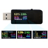 DANIU 7 in 1 USB Tester Digital DC Current Voltage Capacity Power Detector Power Bank Charger Indicator
