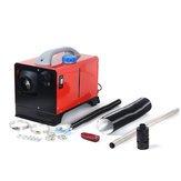 Red All In One 12V 8KW Diesel Air Heater Car Parking Heater