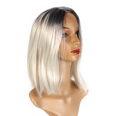 Bobo Short Hair Women's Triple Dyed bobo short Wig Short Wig