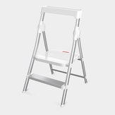 Solid Aluminium Ladder Home Multi-function Folding Ladder Chair Indoor Climbing Ladder Two Step Ladder from
