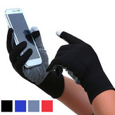 Bakeey Thin Two-fingers Touch Screen Gloves Outdoor Sports Cycling Driving Jogging Running Anti Slip Gloves for iPhone Xiaomi Tablet Non-original