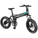 [EU Direct] FIIDO M1 36V 12.5Ah 250W 20 Inches Folding Moped Bicycle 24km/h Top Speed 80KM Mileage Range Electric Bike