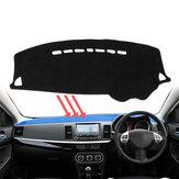 Dash Mat Dashmat Dywanowa pokrywa dla deski rozdzielczej Mitsubishi Lancer 2008 ~ 2016