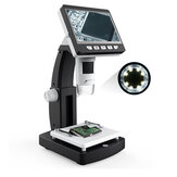 MUSTOOL G710 1000X 4,3 inch HD 1080P Portable Desktop LCD Digital Microscope 2048 * 1536 Resolutie Object Stage Hoogte Instelbare ondersteuning 10 talen 8 Instelbare High Brightness LED