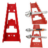 Wrench Spanner Organizer Sorter Holder Wall Mounted Tool Storage Tray Socket Storage Rack Plastic Kit