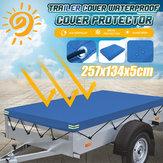 頑丈な防水シートの防水地上テントのトレーラーカバー257.5x134.5x5cm