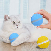 LED Pet Motion Ball Toys Flash Elektrisch geactiveerd Cat Dog Waterdicht spelen
