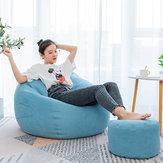 Grande Classic Lazy Bean Bolsa Silla Sofá Fundas para asientos Juego de interior Almacenamiento para adultos Bolsa Silla de bebé Sofá Protector