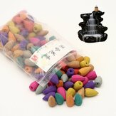 130 Sztuk / worek Backflow Incense Cones Mix Fragrance Home Furnace Burner Pachnące kadzidło