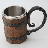 650ml Gothic Pirate Mug Resin Retro Bar Whiskey Cup Festival Cup