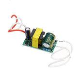 4 واط 5 واط 6 واط 7 واط LED سائق إدخال AC85-265V القوة توريد مدمج محرك القوة توريد 260-280mA إضاءة لتقوم بها بنفسك LED مصابيح