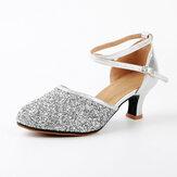 Бальные туфли на танцах с блестками для женщин
