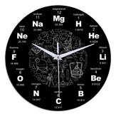 Emoyo ECY025 Chemical Element Table Wall Clock 3D Wall Clock For Home Office Decorations A